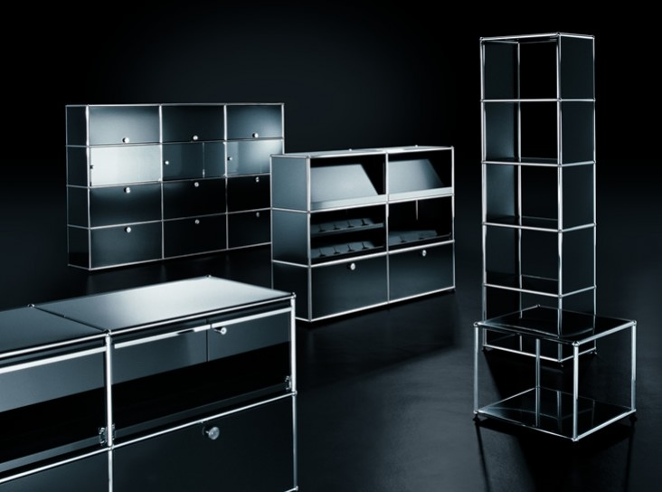 usm haller usm b ro schriever. Black Bedroom Furniture Sets. Home Design Ideas